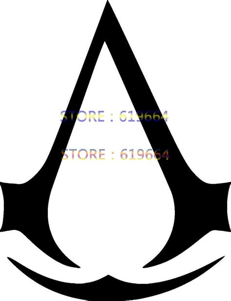 Topi Trucker Asassin Creed Logo 02 Merah assassins creed logo sticker vinyl decal for car window truck laptop boat auto bumper jdm
