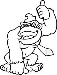 donkey kong colouring pictures print free coloring pages art coloring pages