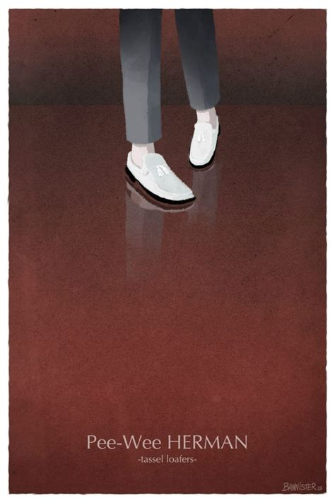 peewee herman shoes shoes illustrations of iconic footwear worn by