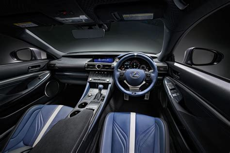 lexus rc f 2017 interior lexus celebrates 10 years of f with special rc f and gs