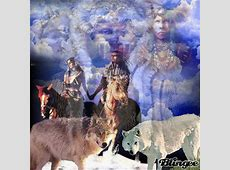 Wolf And Indian Spirit Guide Picture #123116305 | Blingee.com Indian Spirit