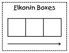 sound box elkonin boxes work pages kindergarten