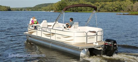 types of boats for lakes lake george pontoon boat rental special georgian resort