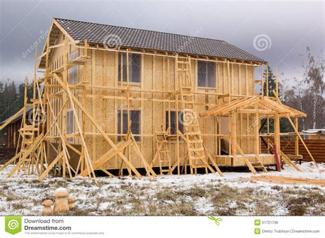 pictures of a frame houses construction of a frame house stock photo image 51721738