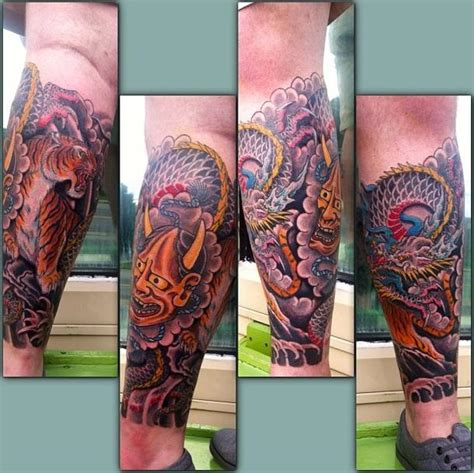 japanese leg tattoo japanese tattoos from the big wide world