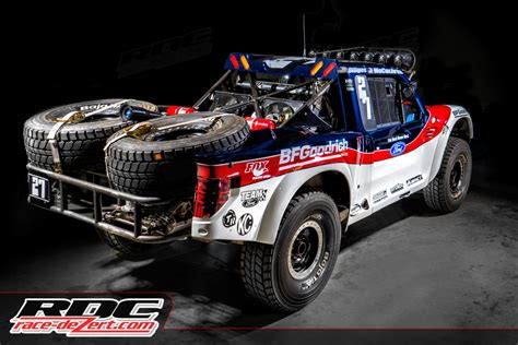ford baja truck steve olliges quot rough riders quot geiser trophy truck race