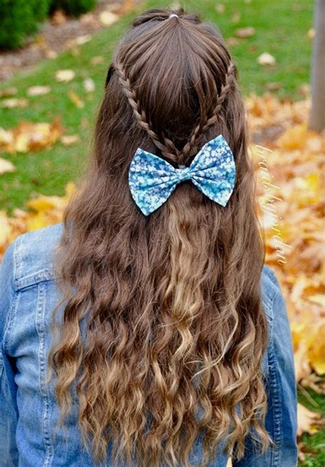 cute hairstyles easy to do for school 50 cutest easy to do school girl hairstyles hairstylec
