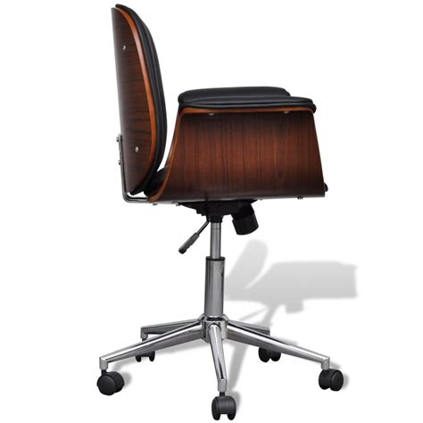 Adjustable Swivel Office Chair Artificial Leather Vidaxl Adjustable Swivel Chair