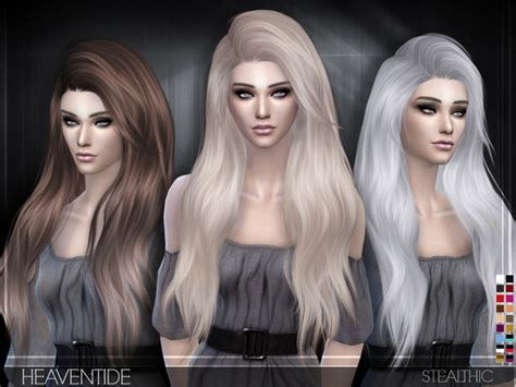 sims 4 hair stealthic heaventide female hair sims 4 updates