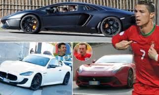cristiano ronaldo new car 2014 cristiano ronaldo neymar lionel messi and wayne rooney s