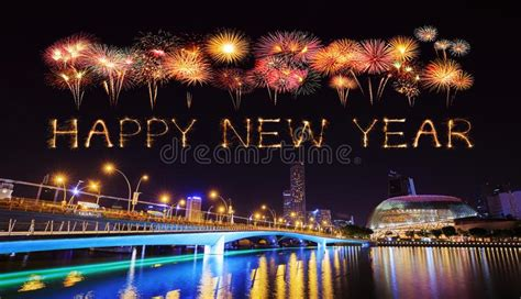 new year celebration in singapore 2018 2018 happy new year firework with singapore cityscape at