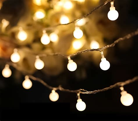 Outdoor Battery Operated String Lights Brillare Battery Operated Led String Lights Kiyolo