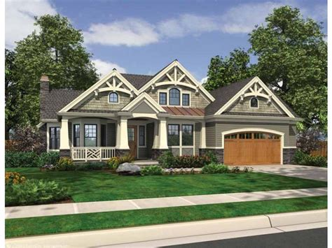 craftsman house plan with 3878 square feet and 4 bedrooms eplans traditional house plan rustic rambler with