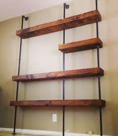 industrial floating shelves industrial pipe shelf by saltandgrain on etsy 1200 00