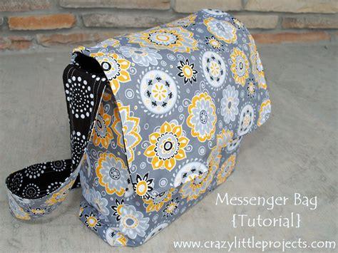 Tutorial Tuesday: Messenger Bag