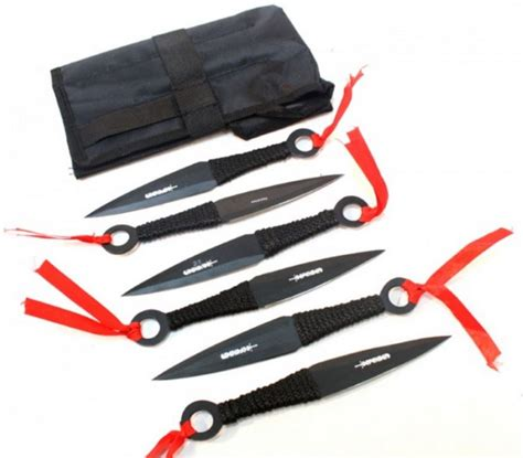 real kunai knives tailed comet kunai throwing knife set for sale all