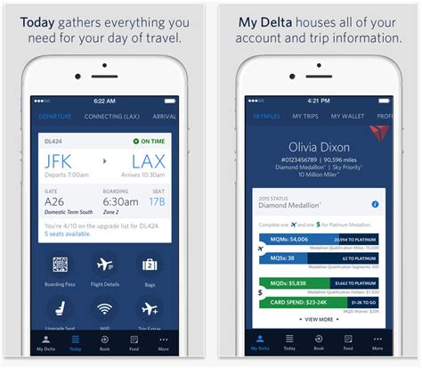 delta app android experience the skies delta air lines updated their mobile application what s new