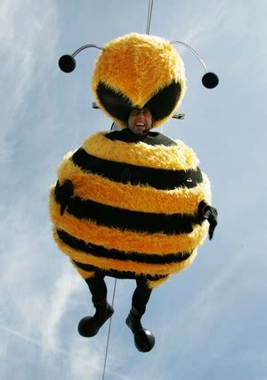 Stylefoul Jerry Seinfeld In Bee Costume by Copious Notes Seinfeld Buzzes Cannes