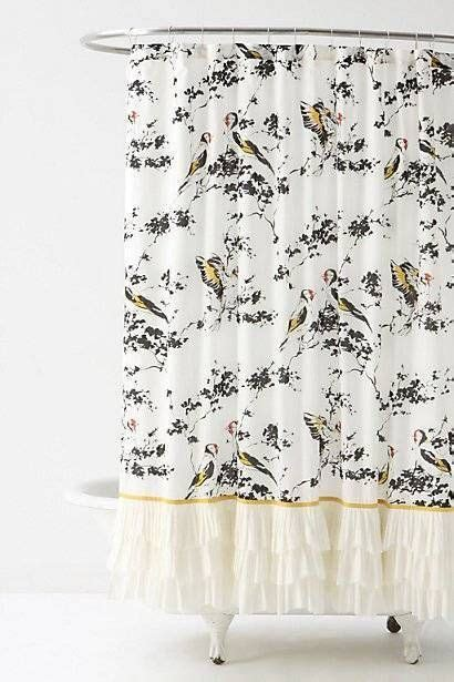 shower curtains anthropologie chaffinch anthropologie and shower curtains on pinterest