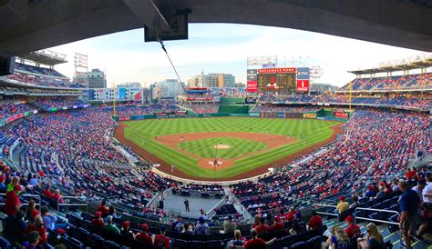Baseball In Washington washington nationals suite rentals nationals park