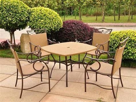buy patio set where to buy valencia wicker resin patio set seats 4