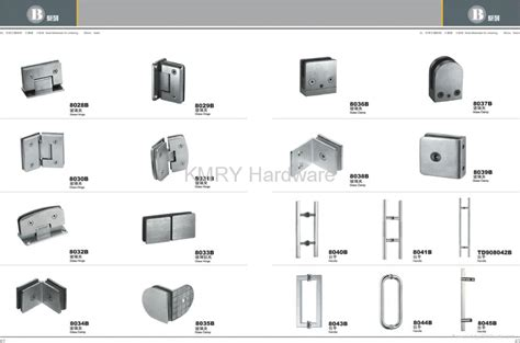 Shower Doors Parts And Accessories Stainless Steel Hardware For Shower Door 8018 Kmry Hong Kong Manufacturer Other Bathroom
