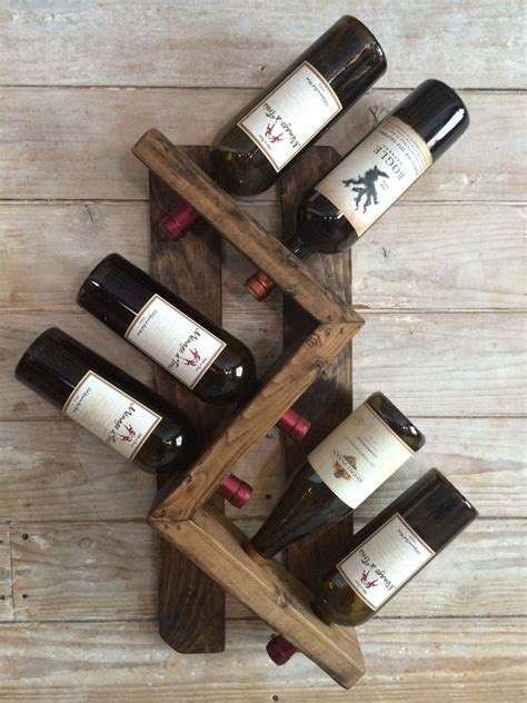 A Wine Rack The Will by Wine Rack Wall Mounted Wine Rack Rustic Vintage Wine Rack