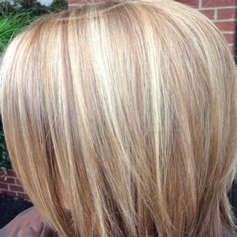 natural blonde hair with lowlights blonde highlights with base bump highlights basebump