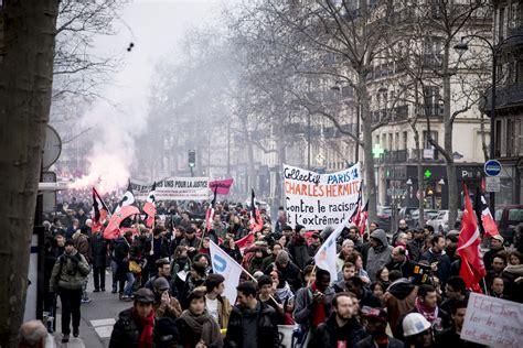 la horde paris compte rendu et photos de la manifestation contre le racisme