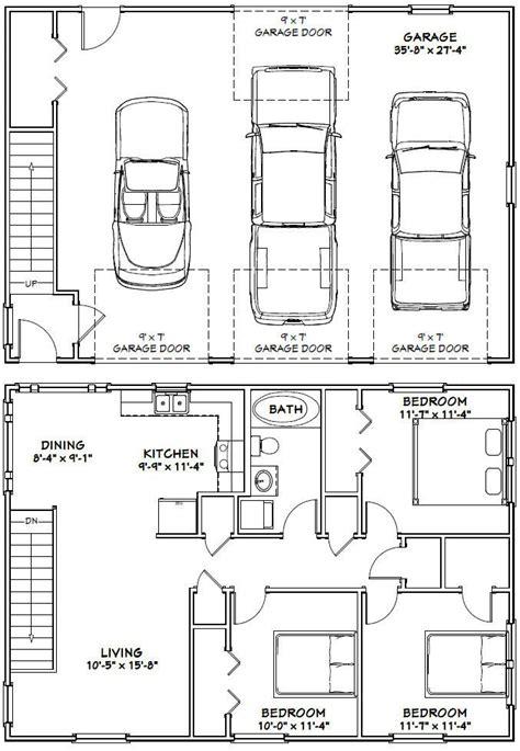 3 Car Garage With Apartment Floor Plans by 40x28 3 Car Garage 40x28g10i 1 136 Sq Ft
