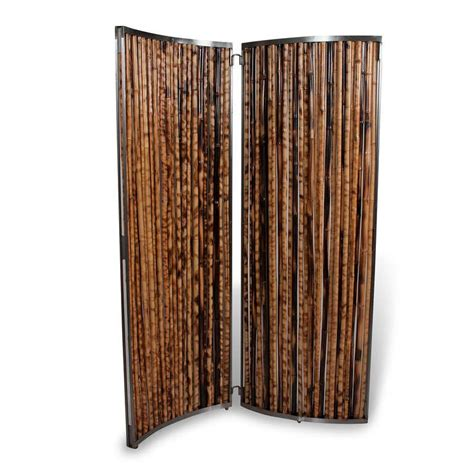 bamboo room dividers zebra bamboo room divider at 1stdibs