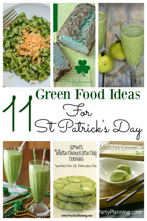 day cooking ideas 11 green food ideas for st s day