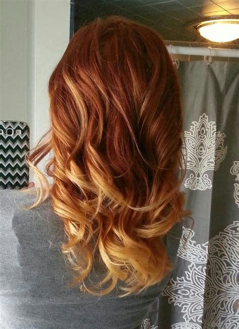 blonde and copper hairstyles copper blonde hair colors pinterest blondes hair