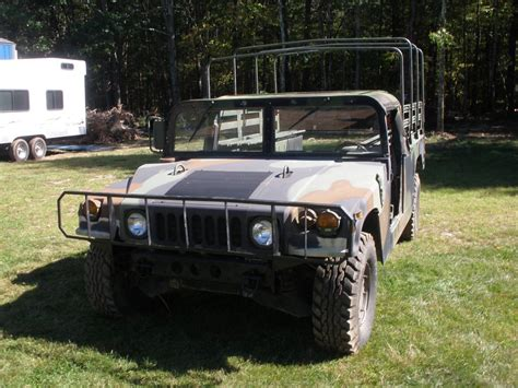 military hummer 2017 doors missing 1991 am general hummer military for sale