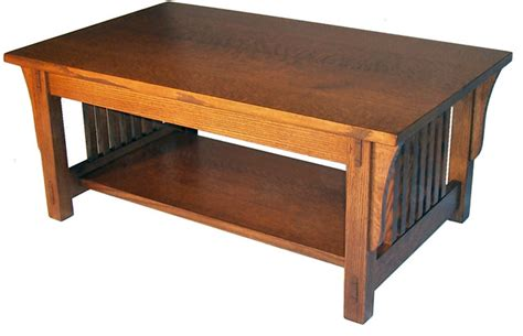 Coffee Table Mission Style Mission Coffee Table Craftsman Coffee Tables By Made Furniture