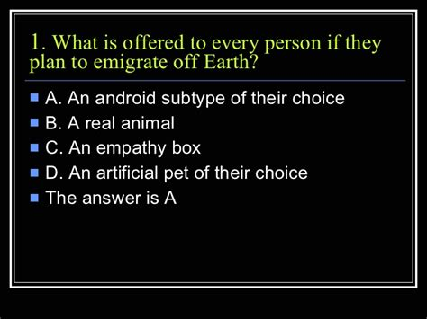 Do Androids Of Electric Sheep Empathy Box Quotes