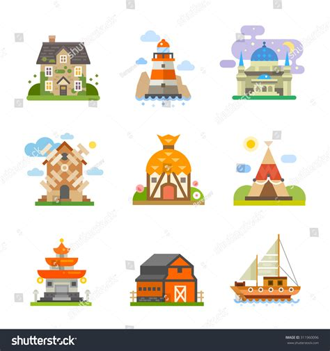 what are the different types of house music types housing different pieces world sea stock vector
