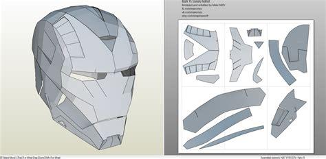Iron Papercraft Helmet - 25 images of templar helmet pepakura template phytobella net