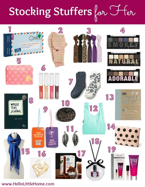 stocking stuffers for her holiday hello little home part 2