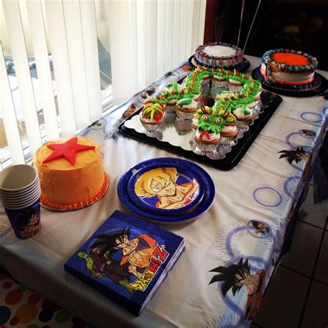 Party Themes A Z   17 best images about huguito dragon ball birthday party on