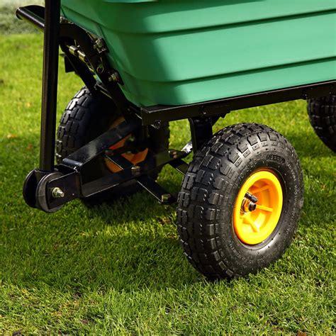 carretto da giardino xl carretto carrello rimorchio portatutto per giardino con