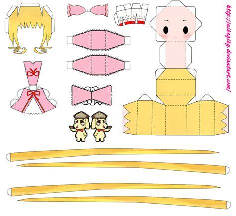 hina ichigo papercrafttemplate by niksqiky on deviantart