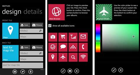 tile pattern app windows phone app review wiztiles windows central