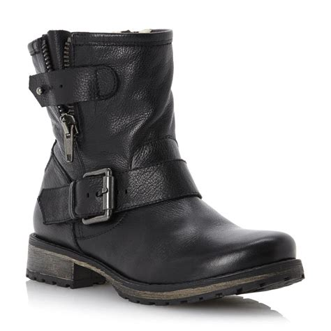 ladies black leather biker boots 25 best ideas about biker boots on pinterest biker