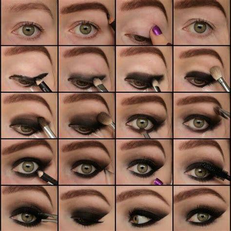 tutorial makeup smokey eyes grey smokey eye makeup wonderful diy5