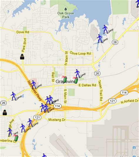 map grapevine texas grapevine tx is on spotcrime spotcrime the s crime map