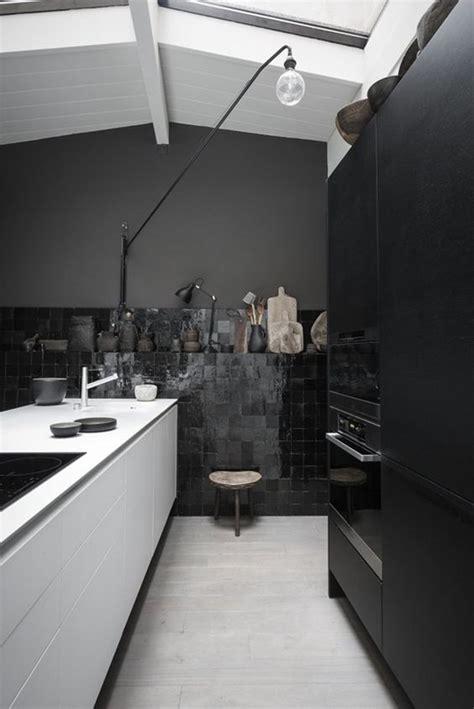 all black kitchen 27 moody dark kitchen d 233 cor ideas digsdigs