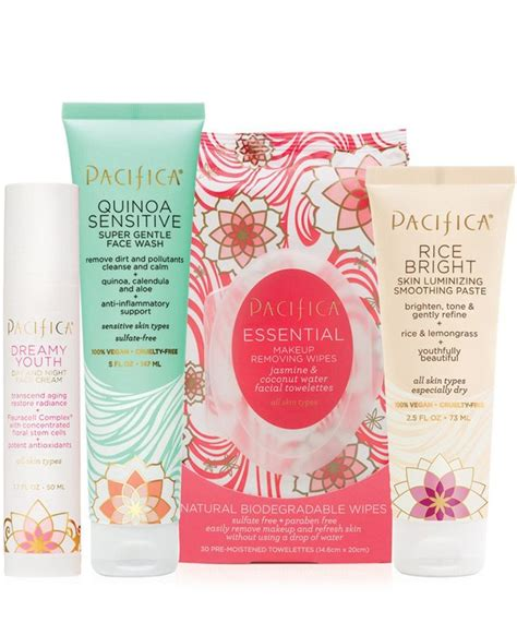 Pacifica Kale Detox Mask by Flowers And Grains Skincare Value Set Hair And