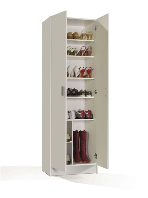 White Shoe Storage Cabinet White Shoe Storage Cabinet With Doors Shoe Wardrobe Cupboard