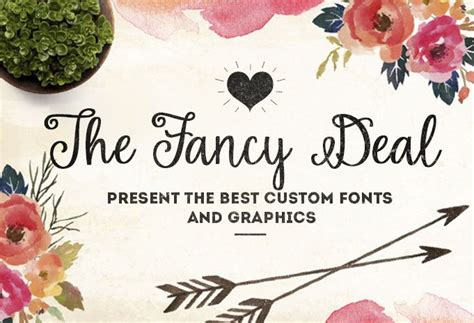 Best Handmade Fonts - best custom fonts and graphics thefancydeal